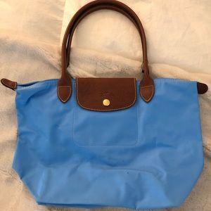 Longchamp Mini Tote - Blue